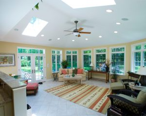 The Sunroom That Solves a New Kitchen