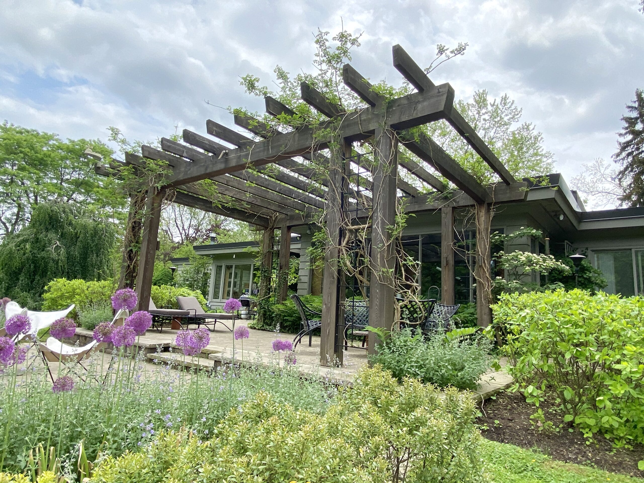 Pergola in the Country