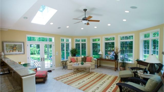 A Sunroom That Solves a New Kitchen by Bailey & Harris