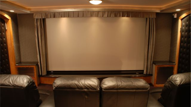 Home Movie Theater by Bailey & Harris