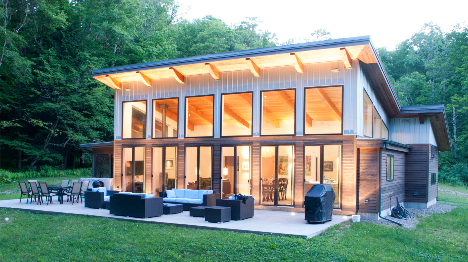 Allegheny Cabin by Bailey & Harris